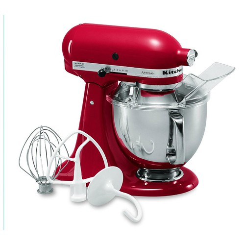 kitchen aid red