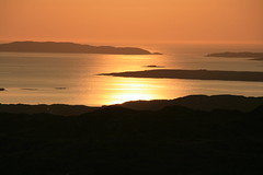 Coucher de soleil Irlandais ! / Irish sunset !