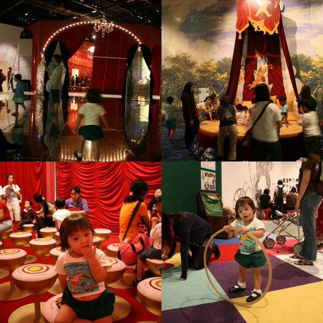 The Mozart interactive exhibit has 11 themed areas for children to compare life in the 18th century versus their own