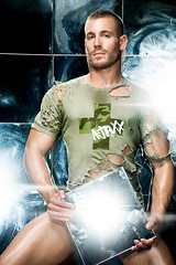 AJAXX 63 campaign (G*Squared_LA) Tags: people male men advertising models guys tshirts campaigns ajaxx63