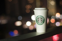 STAR BUCKS (Faris .M) Tags: blur home 50mm gold lights star coast nikon australia f18 sick bucks d300