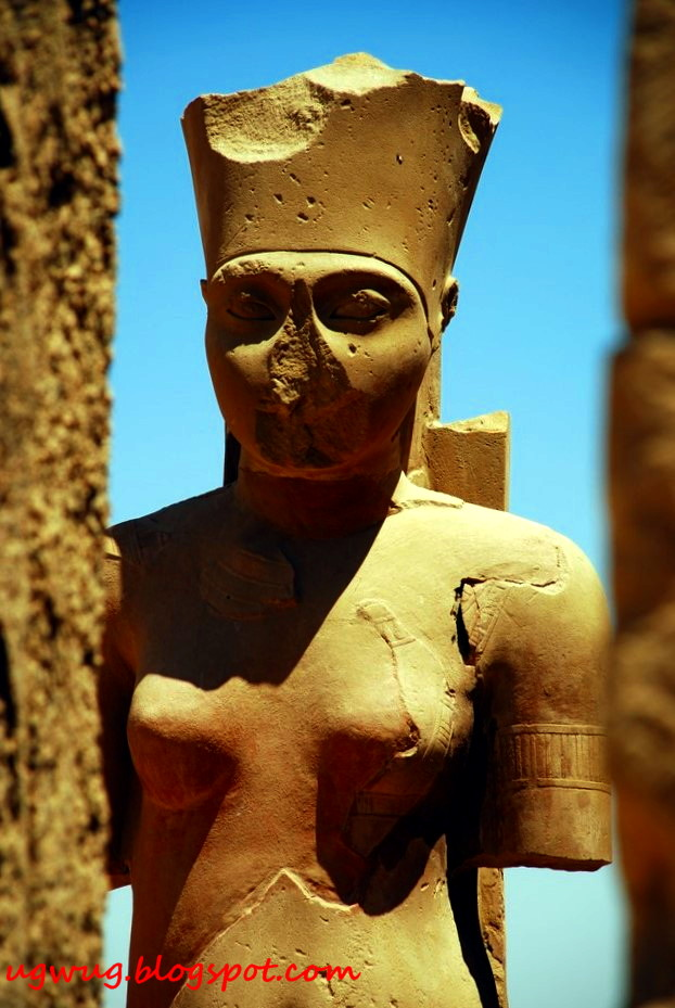 Temple Of Karnak - Female Deity