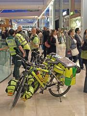 Westfield - W12 (Malcolm Edwards) Tags: uk england london bike bicycle unitedkingdom shoppingcentre cycle malc medic paramedic westfield shepherdsbush w12 londonist 5028 londonambulanceservice