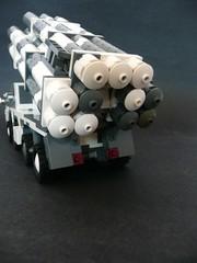 BM-30 Smerch, Rear. (Lego Junkie.) Tags: cold america war lego russia boom soviet rocket launcher chernobyl smerch