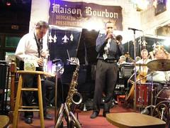 Superb Jazz Club on Bourbon Street (Old Shoe Woman) Tags: music usa louisiana neworleans jazz frenchquarter bourbonstreet jazzclub jazzband maisonbourbon