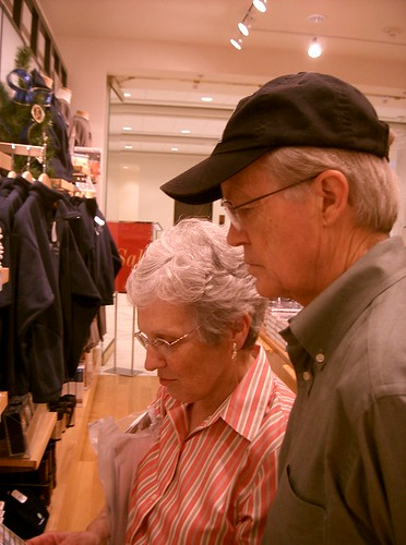 Mom and Dad Shopping