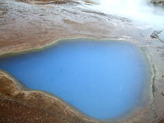Geysir Area (sweetcaza) Tags: blue nature water spectacular landscape iceland landmark steam geyser waterfountain geothermal geysir hotsprings boiling geological naturalphenomenon