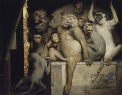 Monkeys as Judges of Art, 1889