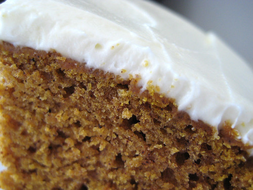 Good Eats 'n Sweet Treats: Pumpkin Spice Cake with Honey Frosting