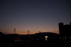 敦賀の夜明け