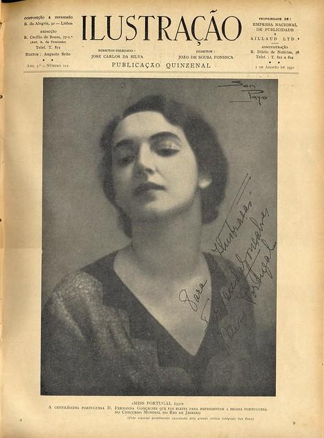 Ilustração, No. 111, August 1 1930 - 10