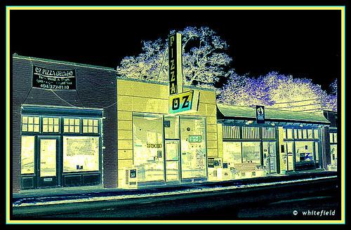 OZ  PIZZA  in Decatur, GA.