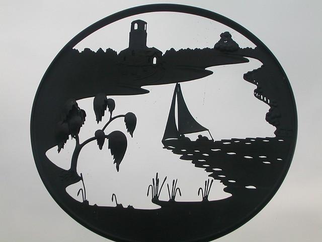 Surlingham village sign