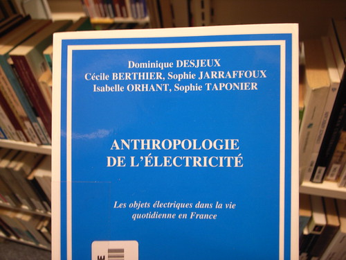 Anthropology of electricity