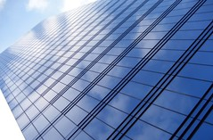 Reflection (DidierS) Tags: windows brussels sky urban reflection building architecture clouds belgium geometry patterns group belgië abstructure shield abstracts brussel soe skycrapers architectuur excellence repeating abstracture of