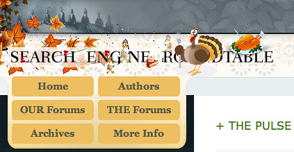Thanksgiving Theme at the Search Engine Roundtable
