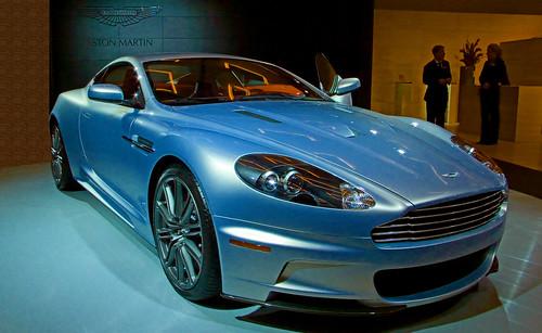 Aston Martin DBS V12 Interior