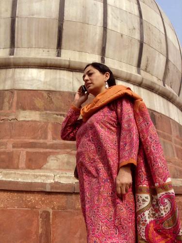 Sadia in Jama Masjid