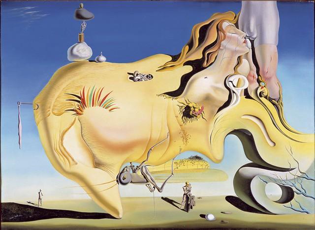 El gran masturbador, de Dalí