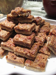 2155720053 617dc46c28 m Pecan Pies Too much Trouble to Make For Thanksgiving? Try These Pecan Bars