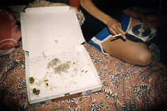 pizza at marins (fotolocos) Tags: girls pizza marins fugazzeta fotoloco ezequielmunoz