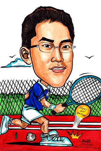 Caricature tennis 03012008