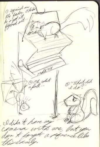 10/12 - Squirrel v. Squirrel-Proof Bird Feeder