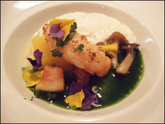 Bacchus (London) - Seared langoustine
