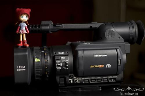 The Panasonic HVX-200