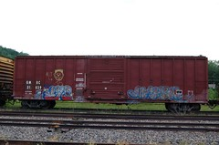 GMRC 21029 (trainman308) Tags: railroad train vermont tank railway trains boxcar hopper freight tanker railroads oilcar