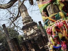 Colors and stupa