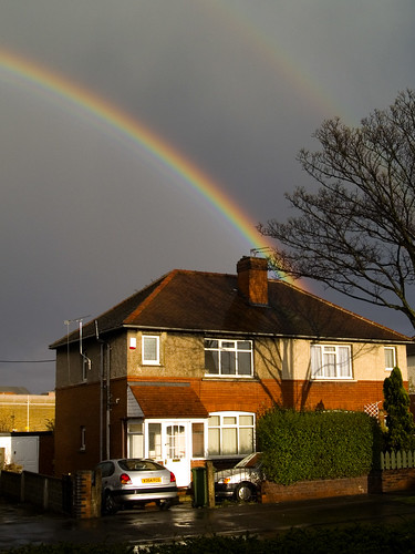 Rainbow Over Wakefield