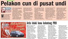 sebaran.com keratan akhbar 11/03/08 harian metro berita harian the star (SEBARANdotCOM) Tags: star metro akhbar berita harian keratan 110308 sebarancom