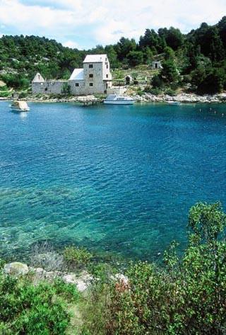 Isla de Hvar. Un mar cristalino