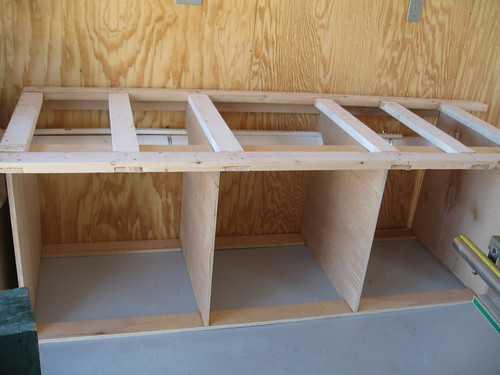Miter Bench and Storage1