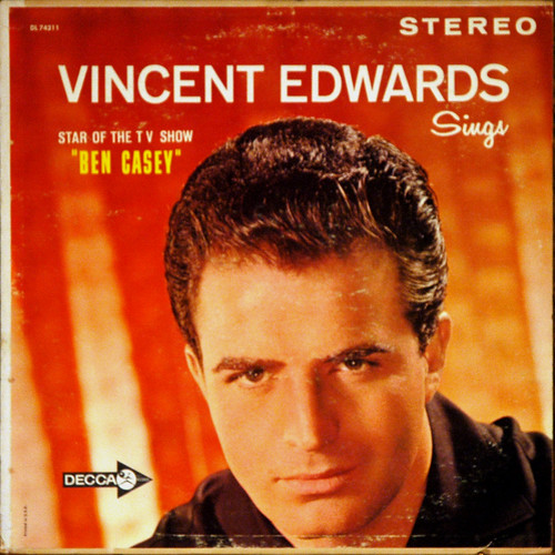 Vince Edwards Sings