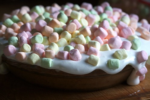 Monster marshmallow pie