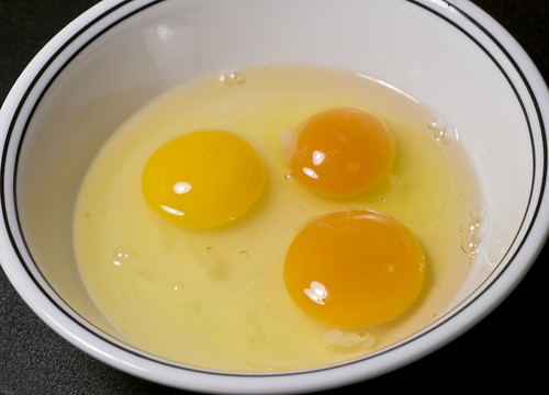 """One Of These Yolks Is Not From A """"Local"""" Farm"""