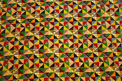 Antique and Old (balval) Tags: triangles antique quilts multicolored balval