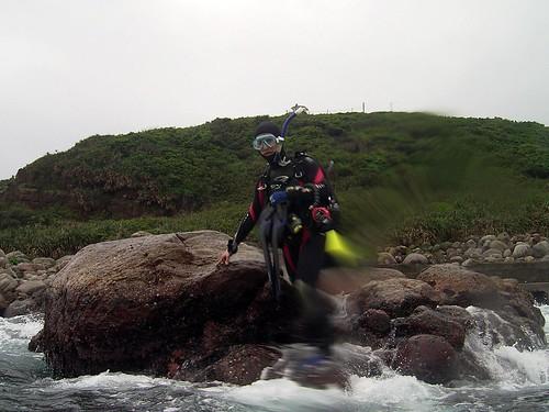 2008第一潛下水照-First Dive 2008