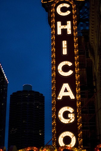 chicago in lights
