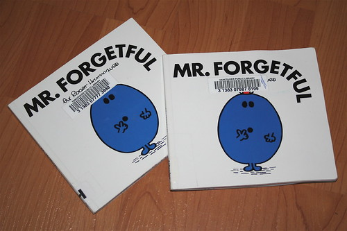 Mr. Forgetful by Lily White
