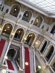Inneneinrichtung des tschechischen Nationalmuseum