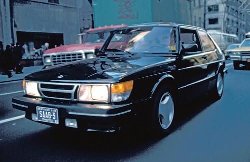 Saab 900 Spg. 1985 Saab 900 Turbo SPG