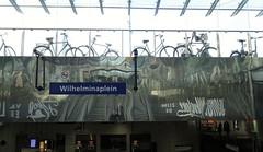 Wilhelminaplein (theo_vermeulen) Tags: rotterdam metro station wilhelminaplein bicycle