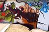 my piece (mrzero) Tags: art lines wall mos effects graffiti 3d letters poland meeting styles colored graff lodz cfs mrzero
