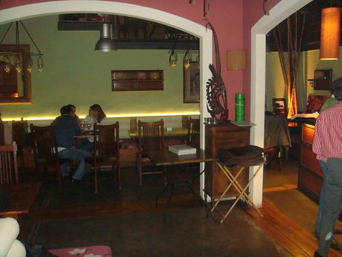 Vista del salón lateral