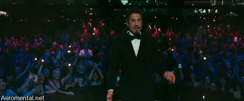 Iron Man 2 Trailer 2 tuxedo