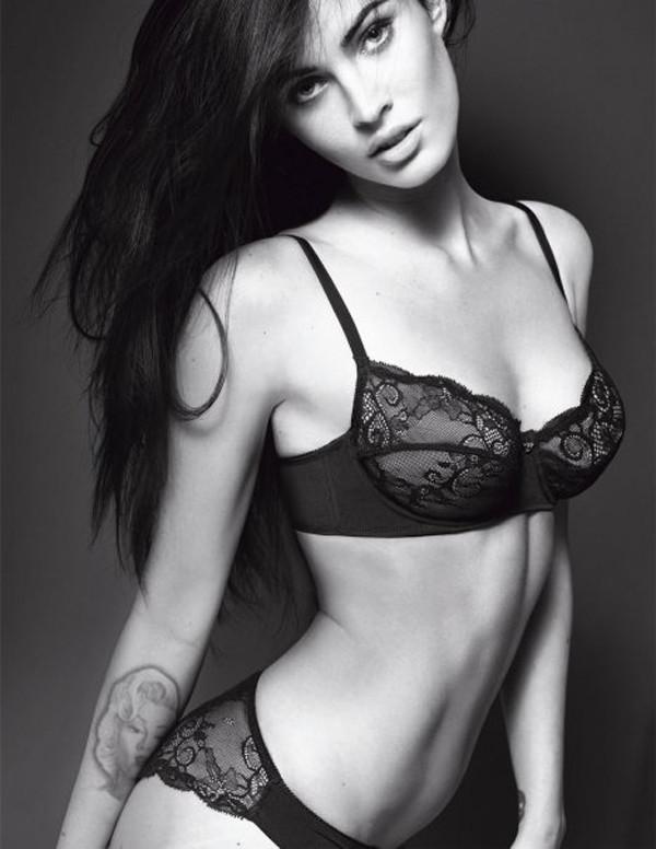 Megan Fox Emporio Armani model