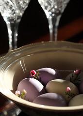 Alleluia! Happy Easter! (rosy outlook photography) Tags: crystal bowl diningroom eggs brunch eastermorning earlymorninglight myeverydaylife myglamorouslife happyeastereveryone soocslightcrop rosyoutlookphotography love'sredeemingworkisdonealleluia sunisshiningbirdsaresinging thoseareteenytinywaxflowersialwaysaskforthemforfillersinbouquetsinsteadofthosefernleavesifyourenicetheydontchargeyouextra